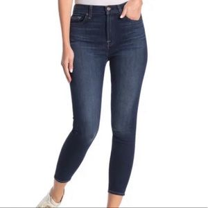 7 For All Mankind Guinevere Ankle Skinny Jeans 26